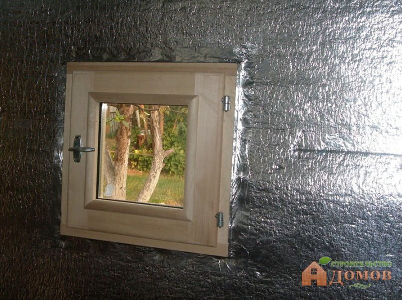 Пароизоляция стен бани: материалы, монтаж