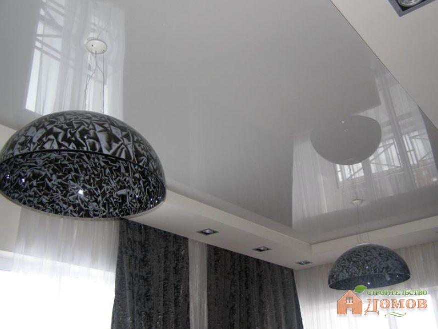 Чем мыть глянцевые натяжные потолки?