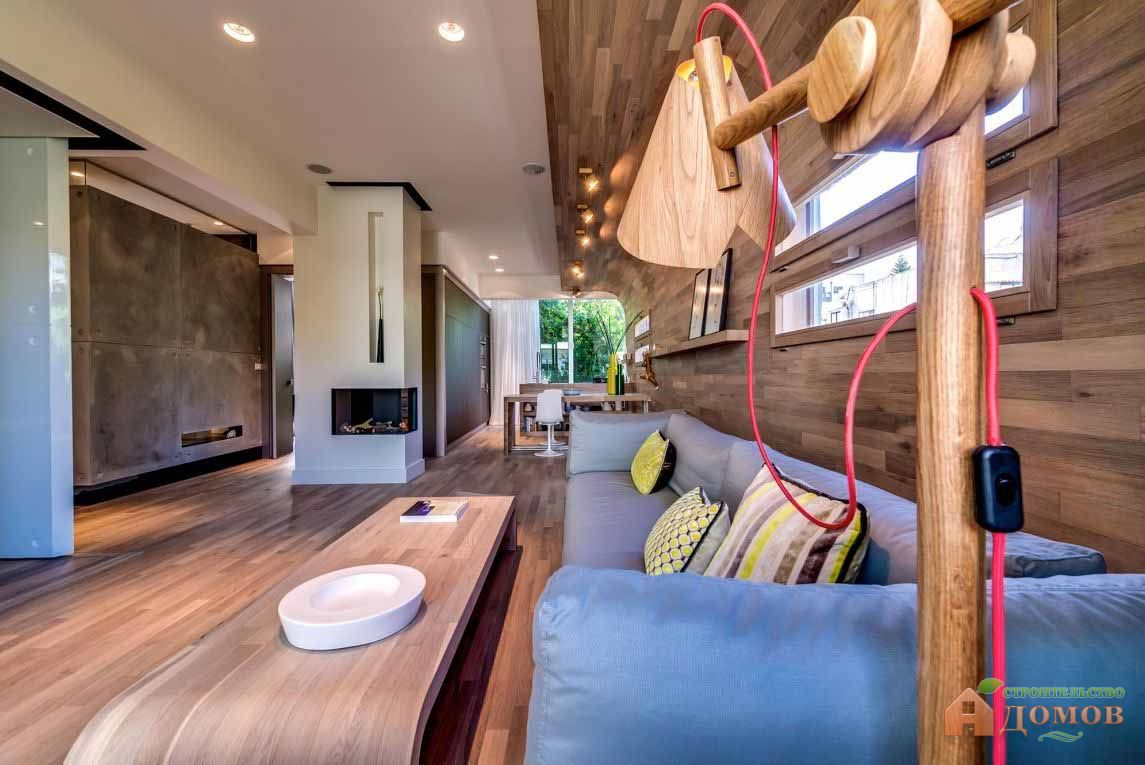 Деревянный дизайн интерьера: сочетания, декор, мебель из дерева