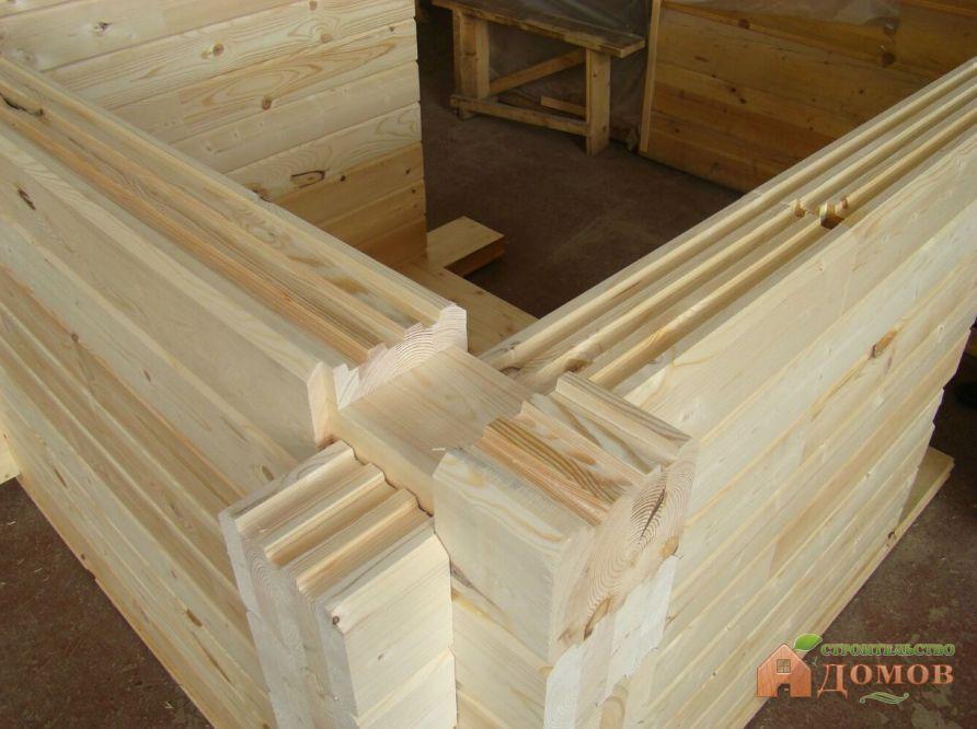 Стены из деревянного бруса: важные мелочи