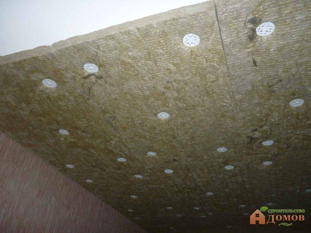 Шумоизоляция натяжного потолка своими руками