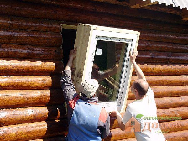 Установить пластиковые окна своими руками в деревянном доме