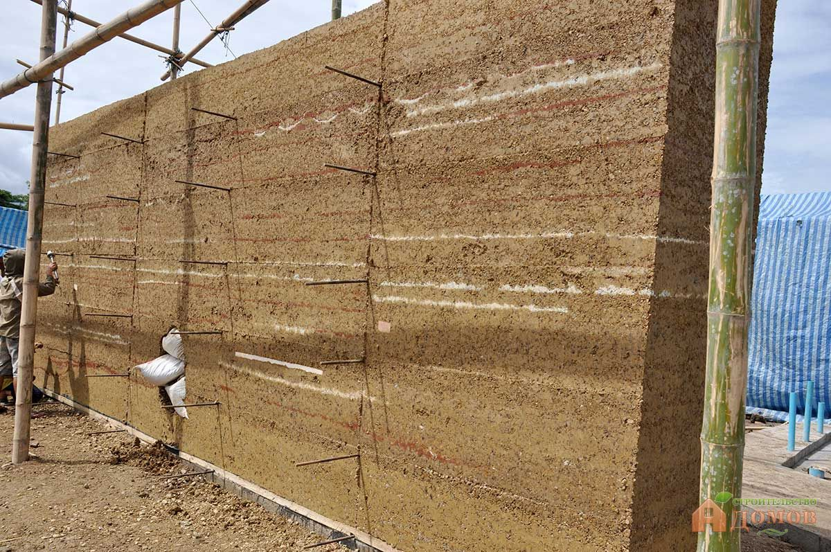 Строительство своими руками стены