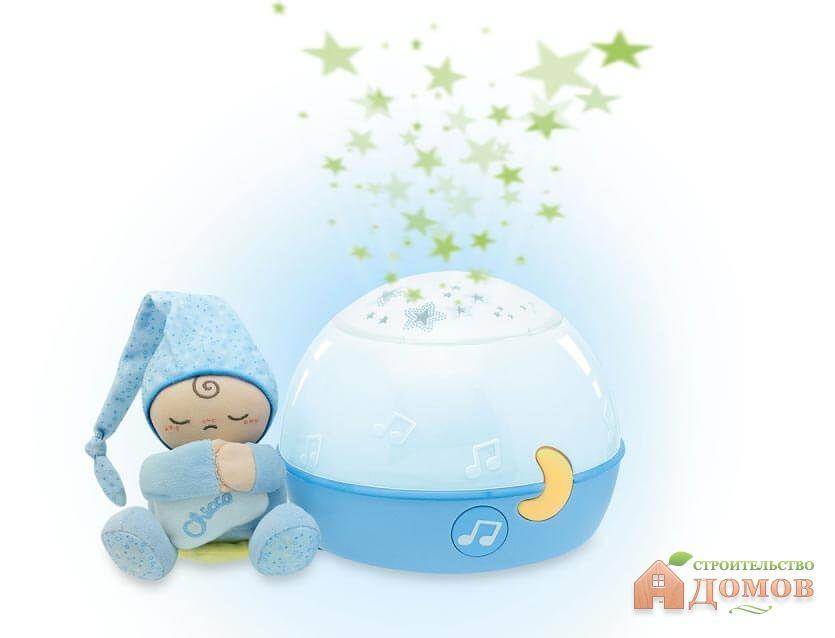 Ночники в детскую комнату: настенные и настольные, мобили, с проектором, музыкой и другие