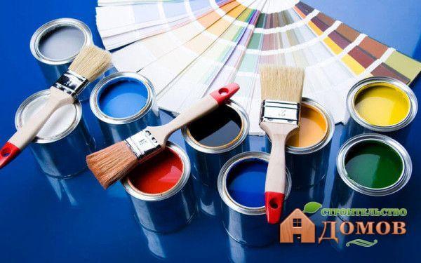Материалы для покраски деревянных окон