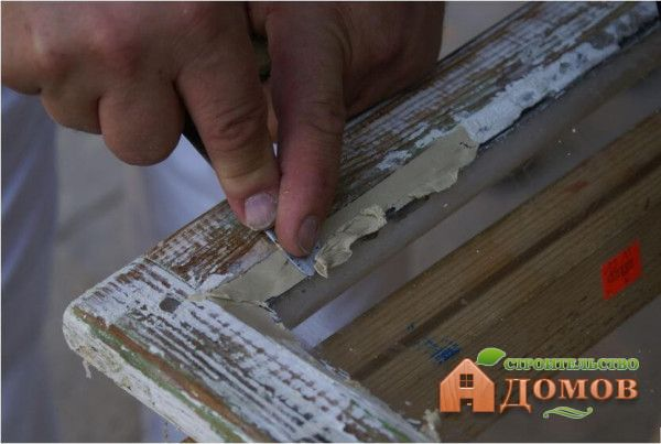 Шпаклевка для деревянных окон под покраску