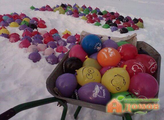 ледяные шары для прикормки