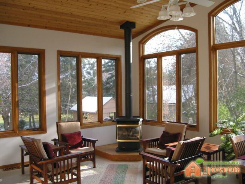 Окна для деревянного дома дизайн
